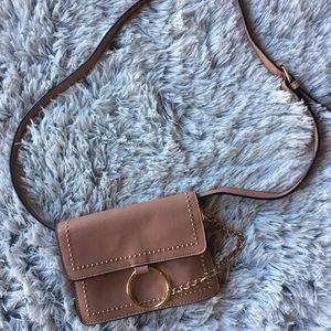 Handbags - Cute Brown and Gold Crossbody